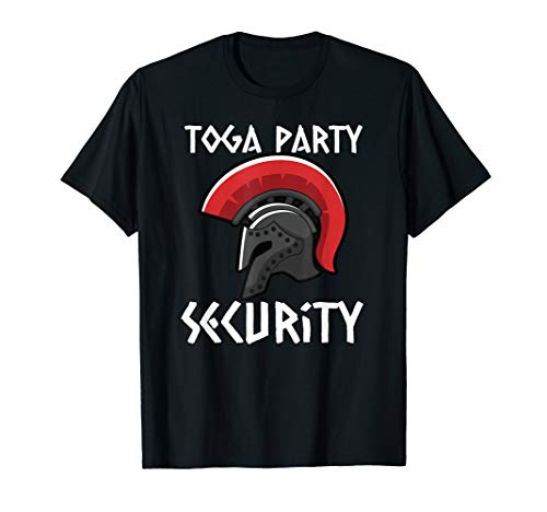 Toga Party Security-College Party Tee
