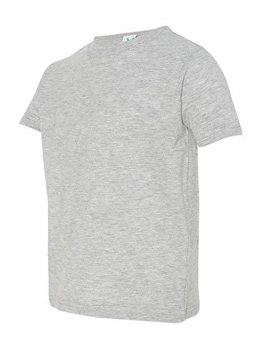 Ash T-shirt Infant - Rabbit Skins Toddler Fine Jersey T-Shirt 2T HEATHER