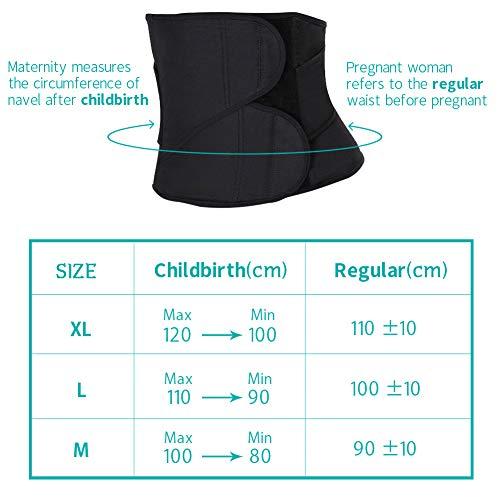 Nero Sezione SEYO Maternità per Supporto Post Postnatale Cintura Parto Fascia Shapewear C qPwRfq1U