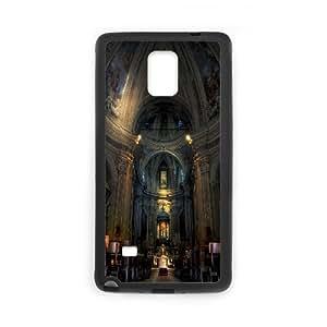 Pharrel Caslino Derba Church Samsung Galaxy Note 4 Cases Unique For Guys, Protective Case For Samsung Galaxy Note 4 [Black]