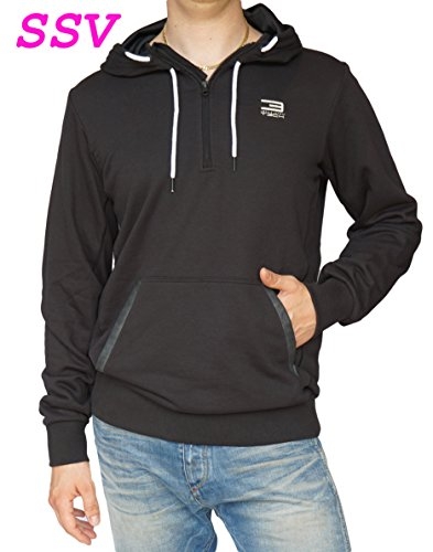 Jack & Jones Tech Hoodie Pullover Sweatshirt Stone Sweat Schwarz Gr L