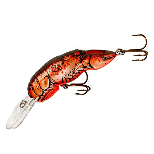 Rebel Lures Big Craw Fishing Lure (2 5/8-Inch, Cajun Crawdad)