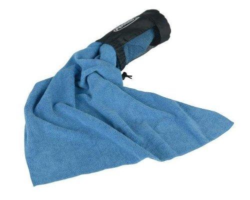 Blue, XL Ferrino Sport Towel CM.120x60 Toalla Tiempo Libre y Sportwear Unisex Adulto Azul