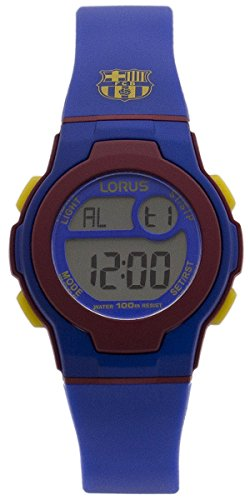 Lorus R2335HX9 33mm Rubber Mineral Watch