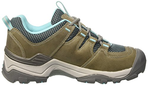 Keen Gypsum II WP W, Scarpe da Escursionismo Donna Grigio (Neutral Gray/Radiance)
