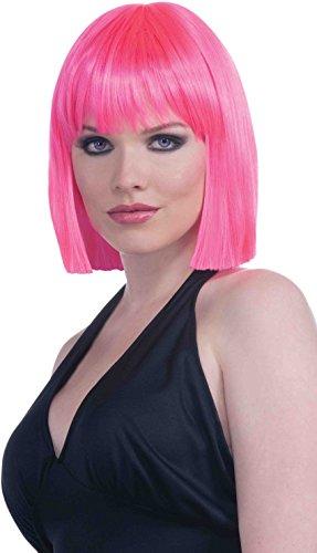 Neon Pink Wig - 9