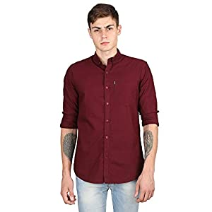 Best Cotton Maroon Shirts for Men India 2020