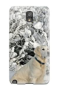 Tough Galaxy BmlzWoe2037AqtEf Case Cover/ Case For Galaxy Note 3(dog Wait For Someone To Play With Him)