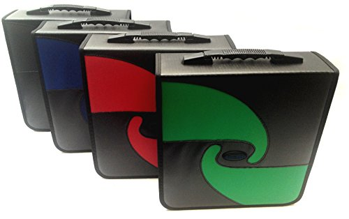 Boostwaves Premium PU Vinyl Leather 240 CD/DVD Media Wallet Folder Carrying Case, Assorted Colors (Cd 240 Disc)