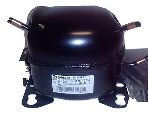 Embraco Emi45her Replacement Refrigeration 1/8hp Compressor (Embraco Compressor)
