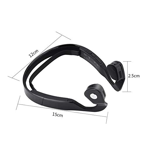 Zetiling Wireless Bone Conduction Bluetooth, Open-Ear Design Bluetooth Bone Conduction Headphone for Bike Sport Reading and Gym