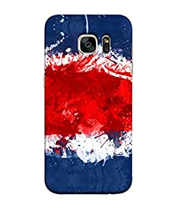 ColorKing Football Costa Rica 09 Multi Color shell case cover for Samsung S7