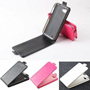 Magnetic Flip-open PU Leather Protective Case For Amoi N828 N850 --- Color:Black