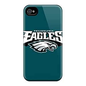 Foh94iIKy Tpu Case Skin Protector For Iphone 4/4s Philadelphia Eagles 3 With Nice Appearance