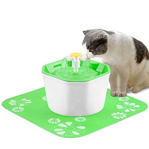 - BOBEastal Cat Water Fountain,1.6L Automatic Pet Drinking Fountain Healthy Hygienic Fresh Water Ultra Quiet Cat Water Dispenser for Cats,Birds,Small Dogs and Animals