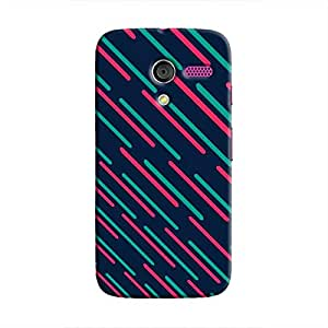 Cover It Up - Teal Lasers Moto XHard Case