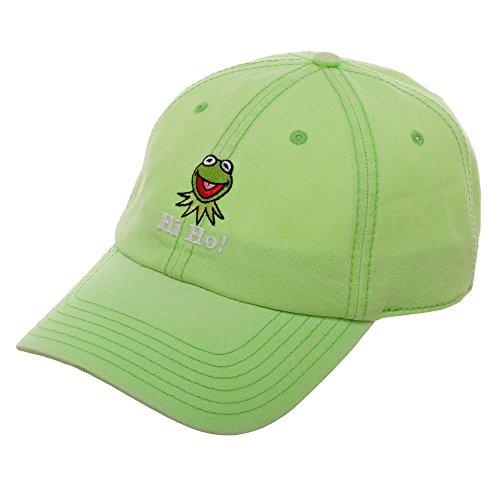 (Bioworld Kermit The Frog Hat - Green Hat w/Kermit The Frog)
