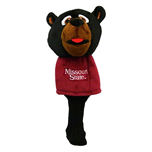 Team Golf NCAA Mascot Golf Club Headcover, Fits most Oversized Drivers, Extra Long Sock for Shaft Protection, Officially Licensed Product, Missouri St Bears