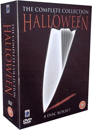 Halloween Blu Ray Box Set.Halloween The Complete Collection Eight Disc Box Set Dvd Amazon Co