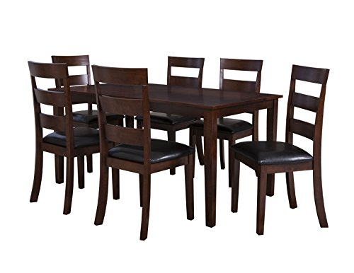 Powell Dining Table Set (Powell 182-730A Linville 7 Piece Chair Set)