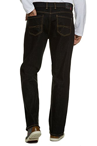 JP 1880 Homme Grandes tailles Jean, regular fit black 26 708068 11-26
