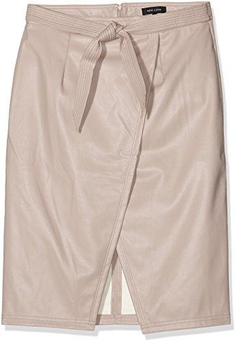 Tie Wrap Look Femme Beige New Nude Waist Jupe q8EwxTTC5