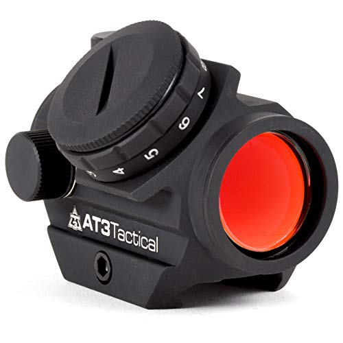 AT3 Tactical RD-50 Micro Reflex Red Dot Sight - 2 MOA Compact Red Dot Scope (Best Deal On Aimpoint Pro)