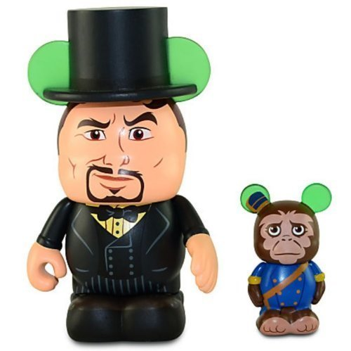 Disney Oz the Great and Powerful Series Vinylmation Figure Set - 3'' Oscar Diggs with 1 1/2'' Finley -