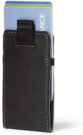 Distil Union Wally Micro - Premium Leather Minimalist Slim Wallet and Card Holder