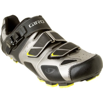 Giro Bike Shoes Gauge Titanium/Charcoal 46.5 by Giro