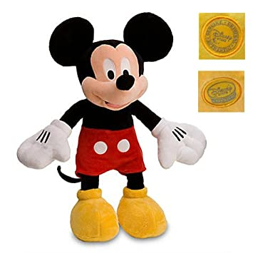 Original Minnie Plush Peluche Mickey-Mouse Stuffed Animals Toy 45-48CM,Kids Toys