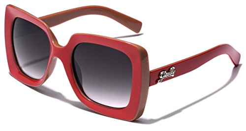 Giselle Square Frame Vintage Retro Womens - Sunglasses Online Cheap Buy