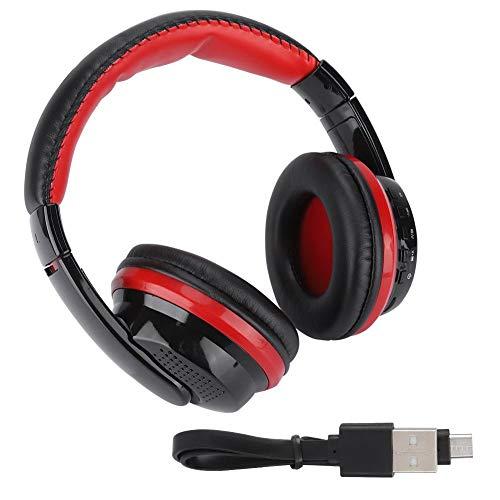 (Simlug Computer Office Headset, MX666 Desktop Headphone for iPhone Black + Red)
