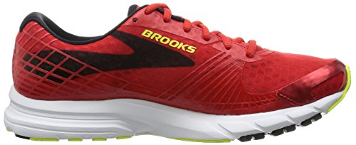 Brooks Mens Launch 3 Running Shoes Red (highriskred / Black / Nightlife)