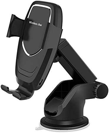 無線車の充電器、10W高速ワイヤレス充電携帯電話ホルダー、互換性のあるiPhone 11/11プロ/ 11プロマックス/ XSマックス/XS/XR/X /ギャラクシーS10 S9 S8 /注10注9