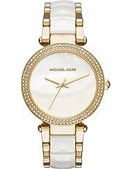 Michael Kors Womens Parker Gold-Tone Watch MK6400