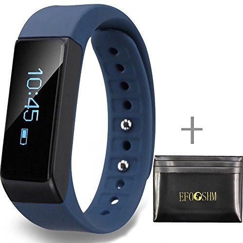 EFOSHM Sport Wireless Activity and Sleep Monitor Pedomete...
