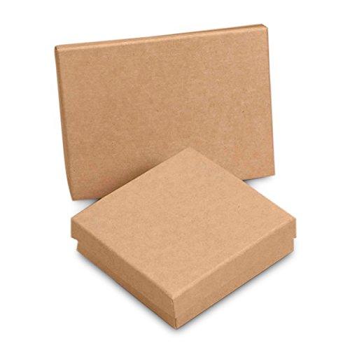 Amazon.com: Algodón cajas de joyería al por mayor – cajas de ...