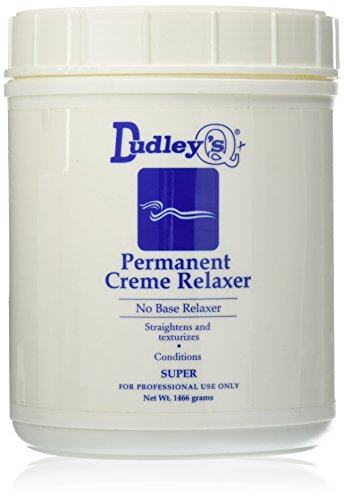 Dudley's No Base Super Permanent Creme Relaxer, 52 Ounce by Dudley's