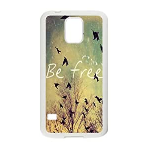 Be free Phone Case for Samsung Galaxy S5 Case
