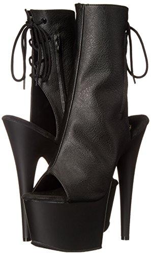Pleaser Synthtique Noir 1018 Mat cuir Pour Noires Femmes Bottines De Adore 8AwTqAta