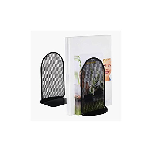 Onyx Bookends, Set of 2, Black-BL - 6 Pack Electronics, Accessories, - Safco Bookends
