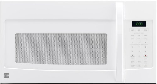 Kenmore 80322White Over-the-Range Microwave (1.6 Cu Ft