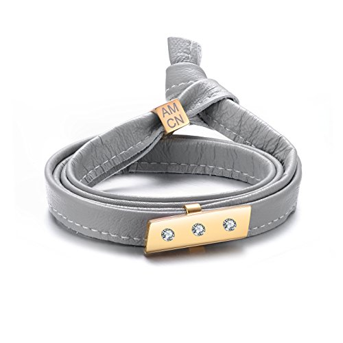 genuine-soft-multi-wrap-glacier-gray-leather-with-a-studded-bar-bracelet