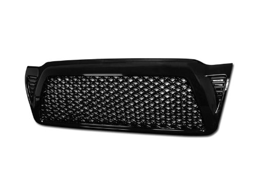 Trucks R Us - 05-09 TOYOTA TACOMA DRAGON STYLE MESH GRILL (BLACK) Custom Style Grill