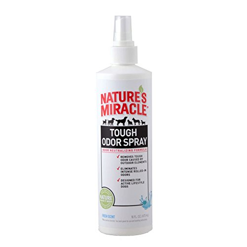 - Nature's Miracle Tough Odor Spray, Fresh Scent, 16 fl. oz.