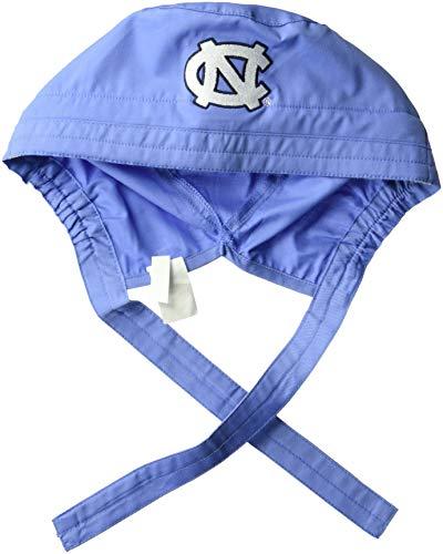 (WonderWink Men's University of North Carolina Scrub Cap, ceil Blue)