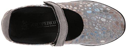 Arcopedico Womens L45 Platte Grijze Print
