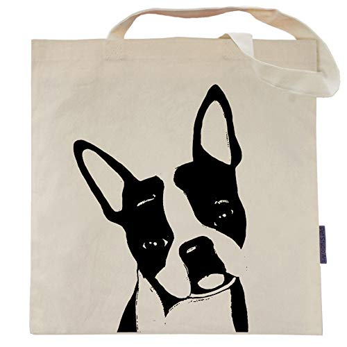 Boston Terrier Tote Bag - Duke the Boston - by Pet Studio Art
