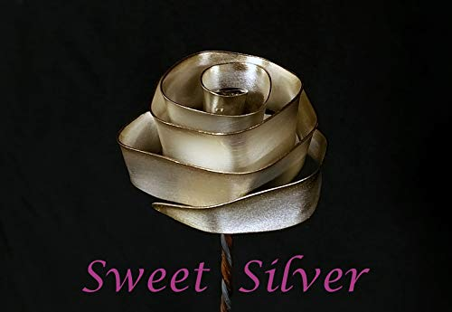 - 1 Sweet Silver-plate Forever Rose #76